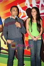 Tara Sharma, Rahul Bose  at Mumbai Marathon press meet in world Trade Centre on 13th Jan 2010 (11).JPG