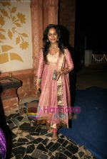 Rajshree Thakur Vaidya at Yeh Rishta serial sangeet on the sets in Filmcity on 14th Jan 2010 (2).JPG