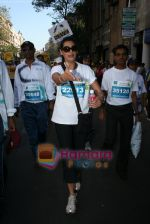 Mana Shetty at SCMM marathon in Mumbai on 17th Jan 2010 (70).JPG