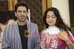 Juhi Chawla, Gurdas Maan at the press conference of film Sukhmani- Hope for Life in Mumbai on 28th Jan 2010 (41).JPG