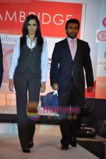 Mrinalini Sharma, Shawn Arranha at Cambridge shirts anniversary show in Blue Sea on 28th Jan 2010 (24).JPG