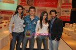 Mrinalini Sharma, Shawn Arranha, Amruta Patki, Ayaz Khan at Cambridge shirts anniversary show in Blue Sea on 28th Jan 2010 (3).JPG