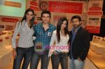 Mrinalini Sharma, Shawn Arranha, Amruta Patki, Ayaz Khan at Cambridge shirts anniversary show in Blue Sea on 28th Jan 2010 (5).JPG