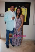 Sonakshi Sinha, Shatrughun Sinha at art brunch Journey V in alliance with NGO Passages in Art N Soul, Worli, Mumbai on 31st an 2010 (2).JPG