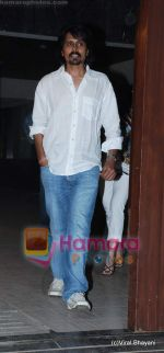 nagesh kuknoor at Shamita Shetty_s birthday bash hosted by Raj and Shilpa Shetty in their Juhu home on 1st Jan 2010.JPG