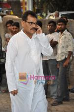 Bollywood pays homage to Aamir Khan_s father Tahir Hussain in Bandra, Mumbai on 3rd Feb 2010 (30).JPG