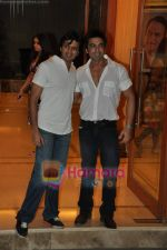 Ritesh Deshmukh, Aashish Chaudhary at Sanjay Dutt_s wedding anniversary bash in Bandra on 12th Feb 2010 (6).JPG