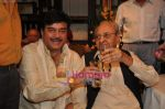Shatrughan Sinha, Pran at Pran_s 90th birthday bash in Royal CHina, Mumbai on 12th Feb 2010 (3).JPG