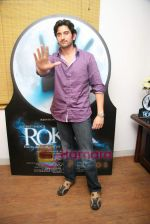 Shaad Randhawa promote film Rokk in Andheri on 15th Feb 2010 (7).JPG
