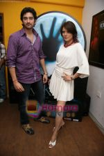 Shaad Randhawa, Udita Goswami promote film Rokk in Andheri on 15th Feb 2010 (2).JPG