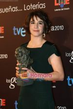 at the Goya Awards in Madrid_s Municipal Conference Centre on 8th Feb 2010 (60).JPG