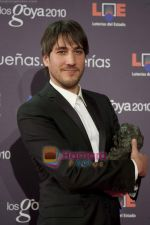 at the Goya Awards in Madrid_s Municipal Conference Centre on 8th Feb 2010 (5).JPG