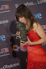 at the Goya Awards in Madrid_s Municipal Conference Centre on 8th Feb 2010 (8).JPG