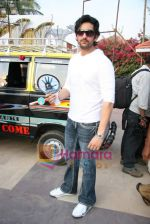 Shaad Randhawa on location of film Rokk in Malad on 22nd Feb 2010 (2).JPG