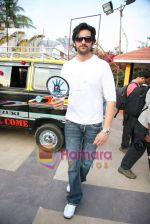 Shaad Randhawa on location of film Rokk in Malad on 22nd Feb 2010 (4).JPG