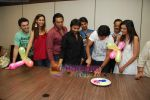 Amruta Patki, Ayaz Khan, Mrinalini Sharma, Shawn Arranha, Samir Kochhar, Purab, Arjan Bajwa at Purab Kohli_s birthday celebration in Moserbaor office, Andheri on 23rd Feb 2010 ( (7).JPG