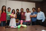 Amruta Patki, Ayaz Khan, Mrinalini Sharma, Shawn Arranha, Samir Kochhar, Purab, Arjan Bajwa at Purab Kohli_s birthday celebration in Moserbaor office, Andheri on 23rd Feb 2010 (38).JPG