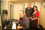 Lalita Munshaw and Prem Joshua record song together in Andheri on 24th Feb 2010 (14).JPG