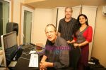 Lalita Munshaw and Prem Joshua record song together in Andheri on 24th Feb 2010 (15).JPG
