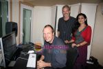 Lalita Munshaw and Prem Joshua record song together in Andheri on 24th Feb 2010 (18).JPG
