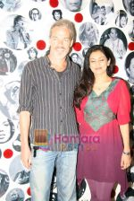 Lalita Munshaw and Prem Joshua record song together in Andheri on 24th Feb 2010.JPG