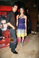 Sharadha Kapoor, Siddharth Kher at Teen  Patti special screening in Cinemax on 25th Feb 2010 (2).JPG