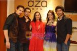 Siddharth Kher, Dhruv Ganesh, Sharadha Kapoor, Vaibhav Talwar at Aza Men wedding showcase for Men in AZA Men, Kemps Corner on 25th Feb 2010 (3).JPG
