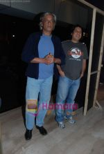 Sudhir Mishra, Piyush Jha at Teen  Patti special screening in Cinemax on 25th Feb 2010 (8).JPG