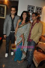Rituparna Sengupta, Rohit Roy, Shamir Tandon at Mittal Vs Mittal film music launch in Cest la Vie on 26th Feb 2010 (5).JPG