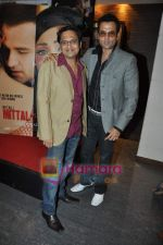 Rohit Roy, Shamir Tandon at Mittal Vs Mittal film music launch in Cest la Vie on 26th Feb 2010 (2).JPG