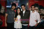 Siddharth Kher, Dhruv Ganesh, Vaibhav Talwar and Shraddha Kapoor at a promotional event in Oberoi Mall, Goregaon on 26th Feb 2010 (4).JPG