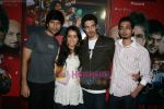 Siddharth Kher, Dhruv Ganesh, Vaibhav Talwar and Shraddha Kapoor at a promotional event in Oberoi Mall, Goregaon on 26th Feb 2010 (2).JPG