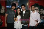 Siddharth Kher, Dhruv Ganesh, Vaibhav Talwar and Shraddha Kapoor at a promotional event in Oberoi Mall, Goregaon on 26th Feb 2010 (7).JPG