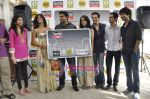 R Madhavan, Shraddha Kapoor, Siddharth Kher, Dhruv Ganesh, Vaibhav Talwar at the Launch of Timeout Lifestyle card in Olive, Mumbai on 2nd March 2010 (2).JPG