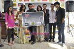R Madhavan, Shraddha Kapoor, Siddharth Kher, Dhruv Ganesh, Vaibhav Talwar at the Launch of Timeout Lifestyle card in Olive, Mumbai on 2nd March 2010 (12).JPG