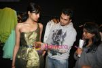 Designer Swanil Shinde Lakme Fashion Week fittings in Hotel Grand Hyatt on 3rd March 2010 (22).JPG