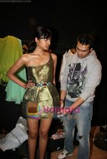 Designer Swanil Shinde Lakme Fashion Week fittings in Hotel Grand Hyatt on 3rd March 2010 (25).JPG