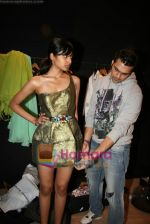Designer Swanil Shinde Lakme Fashion Week fittings in Hotel Grand Hyatt on 3rd March 2010 (26).JPG