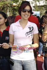 Ishita Arun at Lavassa car race for women in Bandra on 6th March 2010 (3).JPG
