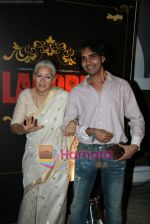 Nafisa Ali, Sanjay Puran Singh Chauhan at Warner Bros Lahore film music launch in Jail restaurant, Near Kokilaben Hospital  on 9th March 2010 (18).JPG