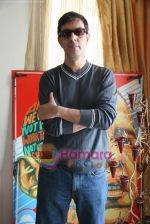 Rajat Kapoor on location of film With Love to Obama in Juhu on 9th March 2010 (11).JPG