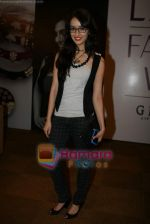 Shraddha Kapoor at Lakme Fashion Week 2010 Day 5 in Grand Hyatt, Mumbai on 9th March 2010 (16).JPG