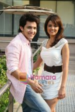 Shweta Agarwal, Aditya Narayan at Shaapit Press conference in Andheri, Mumbai on 11th March 2010 (10).JPG