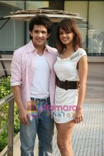 Shweta Agarwal, Aditya Narayan at Shaapit Press conference in Andheri, Mumbai on 11th March 2010 (3).JPG