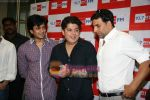 Akshay Kumar, Ritesh Deshmukh, Sajid Khan at Housefull music launch in Big Fm on 15th March 2010 (9).JPG