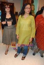 Sarika, Seema Biswas at Smita Thackeray_s film Mahurat Society  in Four Bungalows on 15th March 2010 (34).JPG