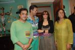 Sarika, Seema Biswas, Javed Jaffery at Smita Thackeray_s film Mahurat Society  in Four Bungalows on 15th March 2010 (45).JPG
