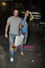 Saif Ali Khan, Kareena Kapoor at the special screening of Love Sex Aur Dhokha hosted by Tusshar Kapoor in Pixion, Bandra on 18th March 2010 (16).JPG