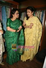 Asha Parekh at the Launch of Shubhrata Dutta_s Jamdani Saree collection in Juh, Mumbai on 23rd March 2010 (11).JPG