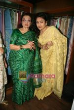 Asha Parekh at the Launch of Shubhrata Dutta_s Jamdani Saree collection in Juh, Mumbai on 23rd March 2010 (12).JPG
